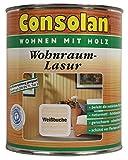 Consolan Wohnraumlasur, 0,75 Liter in Weißbuche Innenlasur