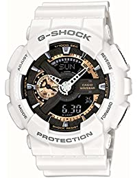 Casio Herren-Armbanduhr XL G-Shock Style Series Chronograph Quarz Resin GA-110RG-7AER