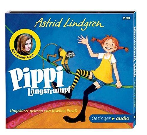 Pippi Langstrumpf (2CD): Neuaufnahme mit Josefine Preuß: Alle Infos bei Amazon
