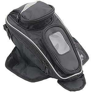 Ryde Aero Sac réservoir aimanté pour moto avec poche pour GPS ou téléphone portable