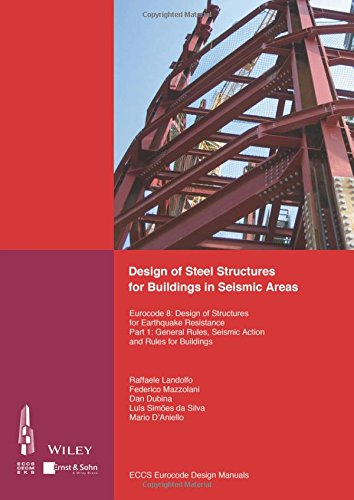 Design of Steel Structures for Buildings in Seismic Areas: Eurocode 8: Design of Structures for Earthquake Resistance. Part 1: General Rules, Seismic Action and Rules for Buildings por ECCS - European Convention for Constructional Steelwork