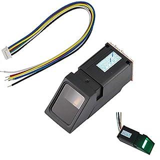 Aihasd Green Light Optical Fingerprint Reader Sensor Module for Arduino Mega2560 UNO R3