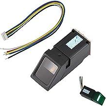 Aihasd Luz Verde Lector de Huellas Dactilares óptico Módulo Sensor para Arduino Mega2560 ...