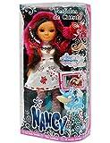 Unbekannt XL - Puppe 44 cm Nancy Rotkäppchen Stehpuppe Märchenpuppe groß Plastikpuppe