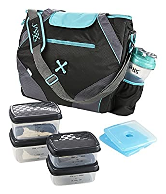 Fit and Fresh Jaxx FitPak Ares with Portion Control Container Set