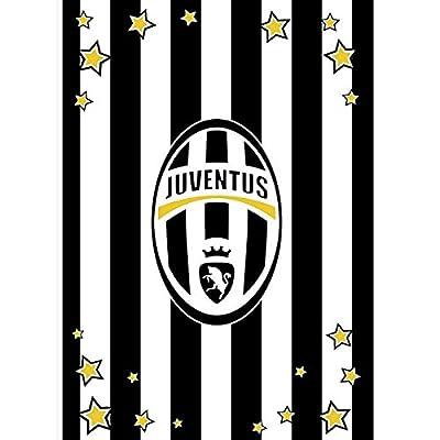 Coperta plaid invernale in pile Juve Juventus ufficiale 130x160 M094 by Carillo