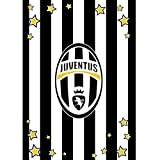 Coperta plaid invernale in pile Juve Juventus ufficiale 130x160 M094