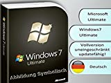 Windows 7 Ultimate 32/64 Bit OEM Vollversion (Produkt Key Card ohne Datenträger)