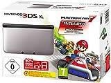 Nintendo 3DS XL - Konsole Silber/Schwarz inkl. Mario Kart 7
