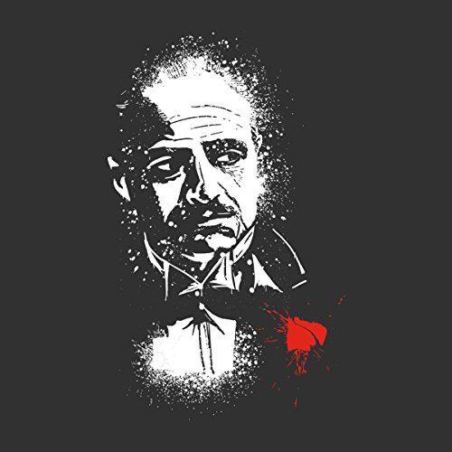 The Godfather The Offer Don Vito Corleone Women's T-Shirt Charcoal