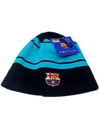 0822cf9da02ba Gorro F.C. Barcelona Adulto Escudo Marino Turquesa  AB4877