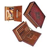 PI Unique - Original Kavatza Secret Rolling Stash Book Box - Wooden Stash Box Like Antique Book (Large 22 x 16cm) by PI Unique