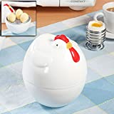 Chicken / Hen Shaped Microwave Egg Boiler - Cook Up To 4 Eggs