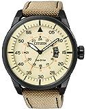 Citizen Herren-Armbanduhr Analog Quarz Leder AW1365-19P