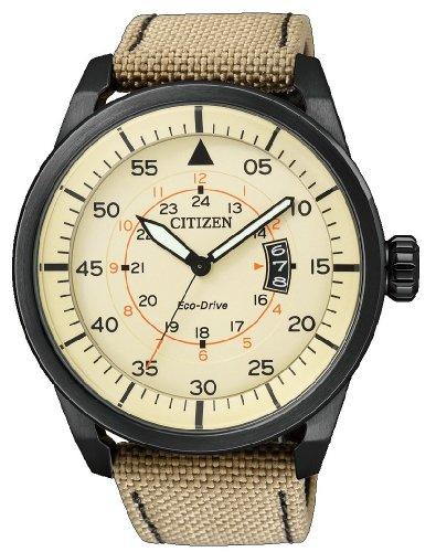 Citizen – Reloj de Cuarzo para Hombre, con Correa de Nylon