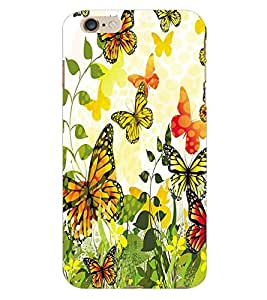 ColourCraft ButterFly Back Case Cover for APPLE IPHONE 6S PLUS