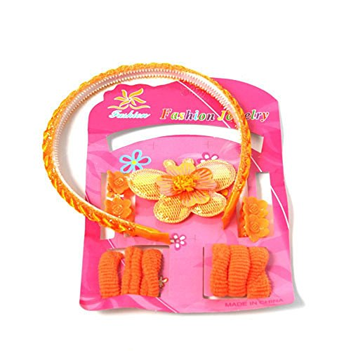 Wl Fashion - Ensembles Bijoux Enfant Papillon Orange