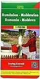 Rumänien. Moldau 1 : 700 000. Autokarte (Freytag u. Berndt Stadtpläne/Autokarten): Touristische...