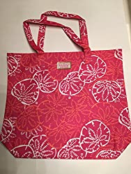 Estee Lauder  Lilly Pulitzer  Beach Cosmetic Large Tote Bag