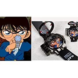 SUNKEE Detective Conan Shinichi Kudou Laser Watch Kid Children Toy New In Box