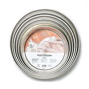 Decora Ruoto per Pastiera, Bagna Stagnata, Argento, 28 cm