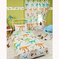 Dinosaurio mundo funda de edredón y funda de almohada Set