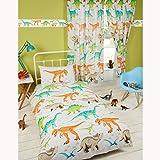 Price Right Home Dinosaur World Single Duvet Cover and Pillowcase Set