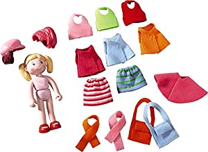 HABA 300519 Figura de Juguete para niños - Figuras de Juguete para niños (Multicolor, 3 yr(s), Plastic,Polyester, Boy/Girl)