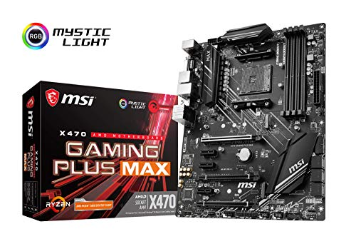 X470 GAMING PLUS MAX - Placa base 4 PCI-E Gen3
