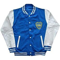 Boca Juniors bocajket–Chaqueta fútbol, BOCAJKET, azul, FR : XXL (Taille Fabricant : XXL)