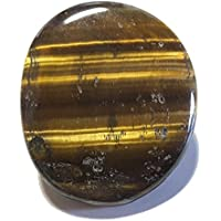 KRIO® - Edelstein Bolotie aus Tigerauge an Lederkordel Ø 4mm ca 98 cm lang preisvergleich bei billige-tabletten.eu
