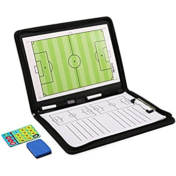 AGPTEK Magnetic Football Coaching Board,Tactics Clipboard