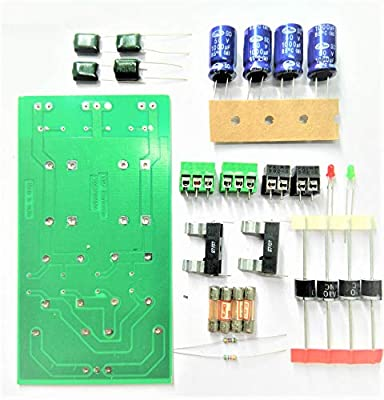 Vasp Electronics DIY Power Supply Module Board using 6A4 Diode & 1000uf 50v Capacitor PCB Hobby Kit