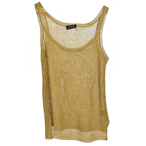Ralph Lauren Ralph Lauren-Top Alicia, da donna, colore: beige Beige