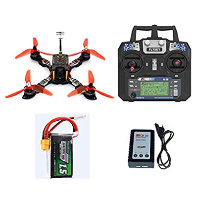 GEHOO GH 210mm RTF FPV Quadcopter Racing Drone Mini Racer with Flysky FS I6 Transmitter OMNIBUS F4 Pro(V2) Flight Controller by GEHOO GH