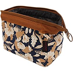 Aeoss ® New Women Portable Cute Multifunction Beauty Travel Cosmetic Bag Organizer Case Makeup Make up Wash Pouch Toiletry Bag (BROWN)