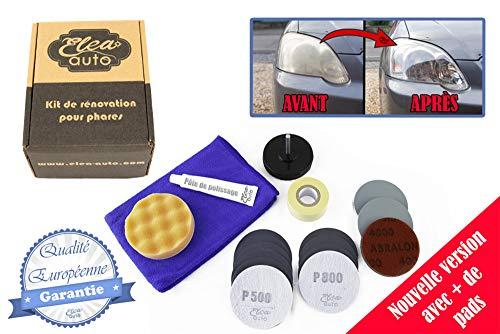 Eléa-Auto Kit de rénovation (Nouvelle Version) pour phares en...