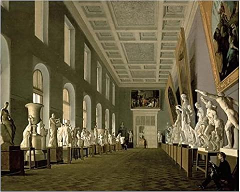 Photographic Print of The Antiquities Gallery of the Academy of