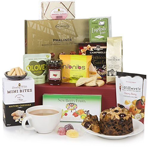 Luxury Afternoon Tea Delights - The Perfect All Round Food Hamper - Birthday Hampers & Gift Baskets