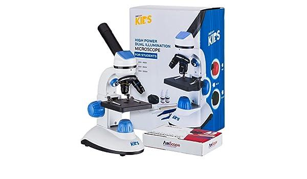 Amscope m b dual beleuchtung mikroskop für