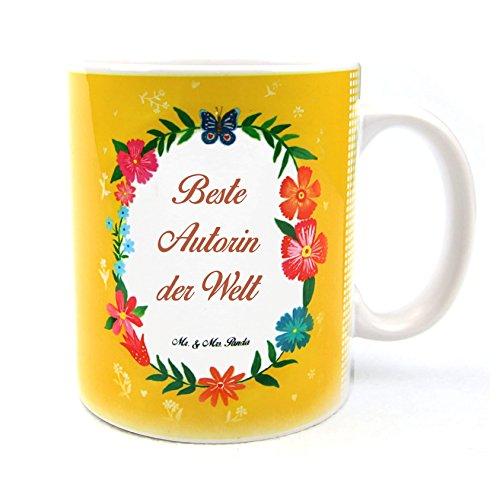 Mr. & Mrs. Panda Tasse Design Frame Happy Girls - 100% handmade in Norddeutschland - Frühstück, Tee, Teetasse, Cup, Blumen Liebe Flower, Porzellan, Tasse, Geschenk, Kaffeetasse, Becher, Schenken, Keramik