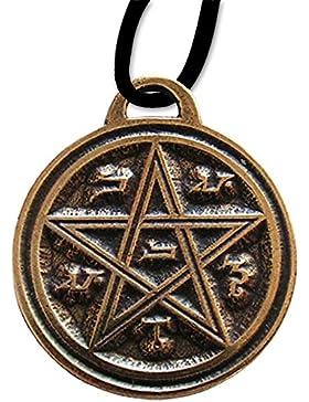 Anhänger Venus Pentagramm Keltischer Schmuck mit Lederhalsband Schmucksäckchen und Karte – Liebe und Freundschaft...