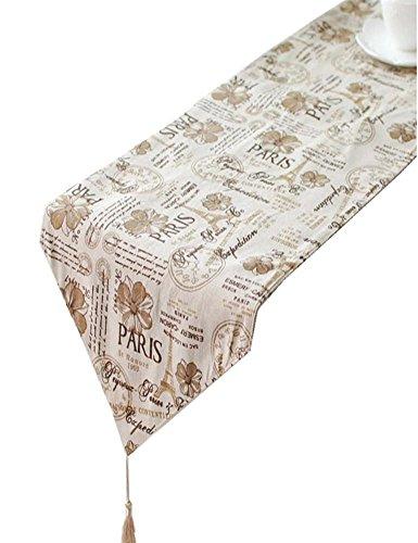 Preisvergleich Produktbild ZQG® Tischläufer Tischwäsche alten britischen Stil Flagge Flagge Tabellen Flagge Curio Striped Home Textile Tischdecken Leinen Tischdecke 30*220cm