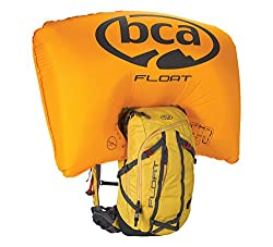 bca Float Lawinenairbags 27 Tech Airbag, Yellow, 53 x 34 x 11.5 cm, 27 Liter