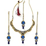 Xcite Elegant Necklace Set with Maang Ti...