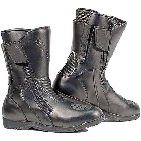 Richa Nomad Waterproof–Botas de motorista negro UK 8(EU 42)