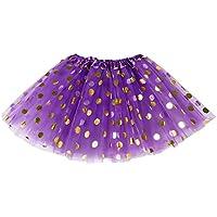 mioim® 3Layer Niños Chica Rock palietten Dots Tutu vestido de ballet Danza Faldas - Cosmética y perfumes - Comparador de precios