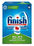 Finish All in 1 Tablettes Lavables Vaisselle + 2 Tabs