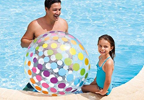 Intex Jumbo XXL Wasserball Strand Pool Schwimm Ball 107 cm - 2