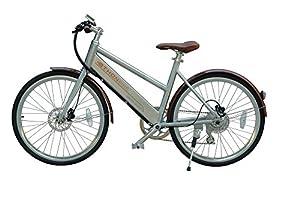 Ethon Design E-Bike Urban Queen 26 Zoll Elektrofahrrad 250 Watt bis zu 150 KM Reichweite